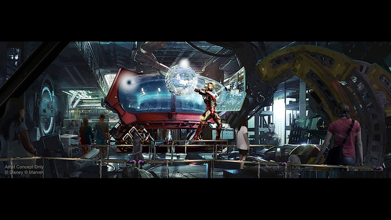 [Parc Walt Disney Studios] Attraction Iron Man et les Avengers (202?) Dlp23910
