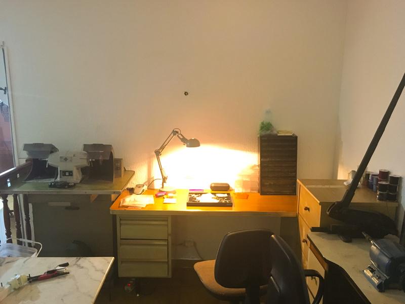 Mon nouvel atelier  2d4e7410