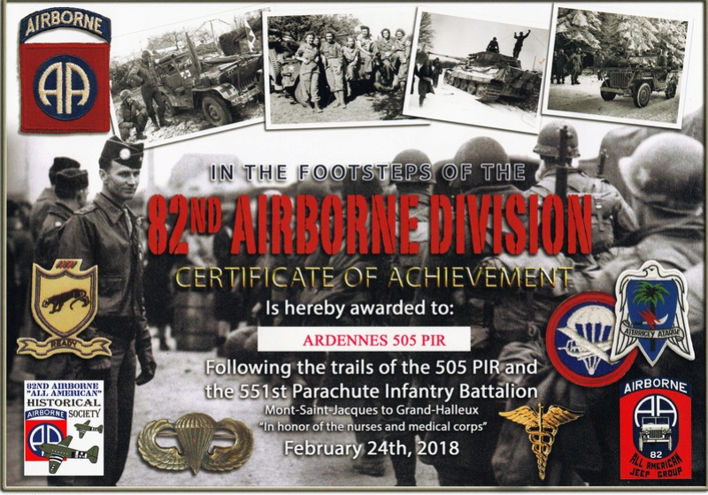 In the Footsteps of the 82nd Airborne Division - february 24 2018 28616610