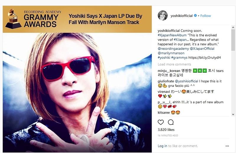 Yoshiki balance enfin des news - VOL.II Xjapan10