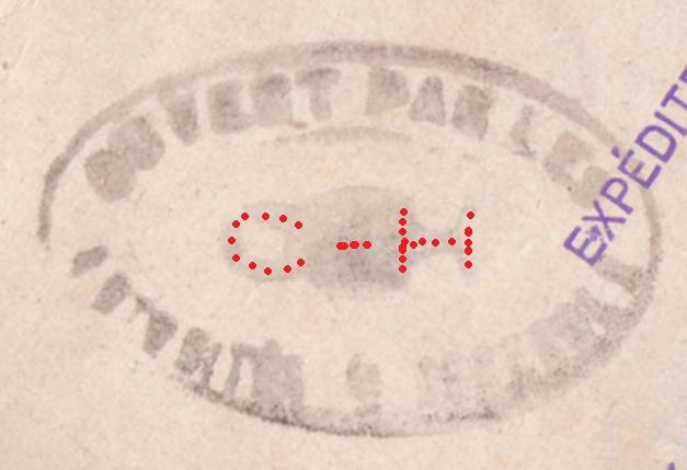 Entier postal Iris 1f20 + 2 timbres Pétain a 60cts, ces dernier non oblitéré au 30.09.44 ! 1a10