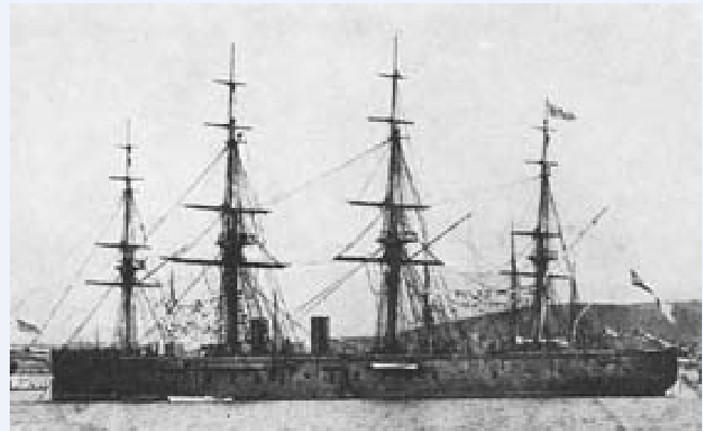 Les premiers cuirassés britanniques 1860-1889 1_achi10