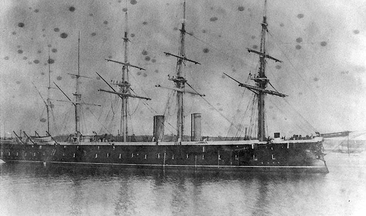Les premiers cuirassés britanniques 1860-1889 1_agin10