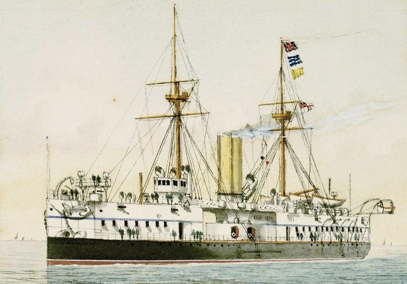 Les premiers cuirassés britanniques 1860-1889 1_colo10