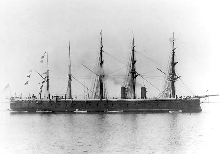 Les premiers cuirassés britanniques 1860-1889 1_mino10