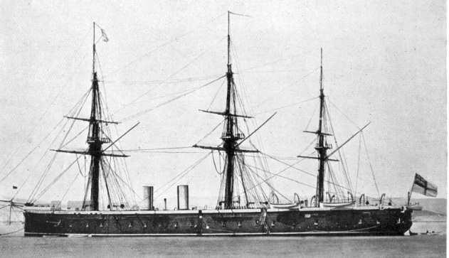 Les premiers cuirassés britanniques 1860-1889 2_achi10