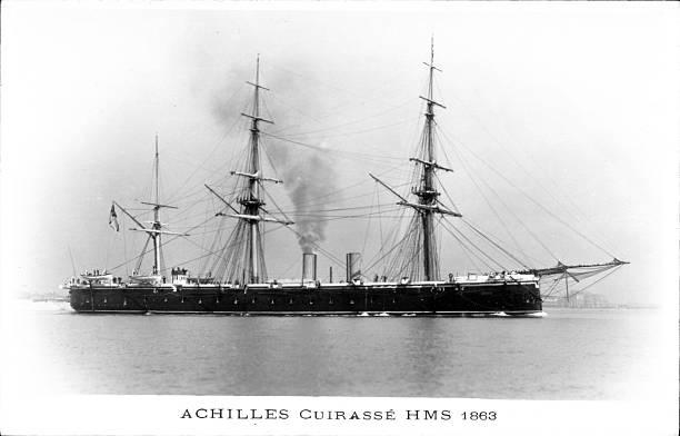 Les premiers cuirassés britanniques 1860-1889 3_achi10