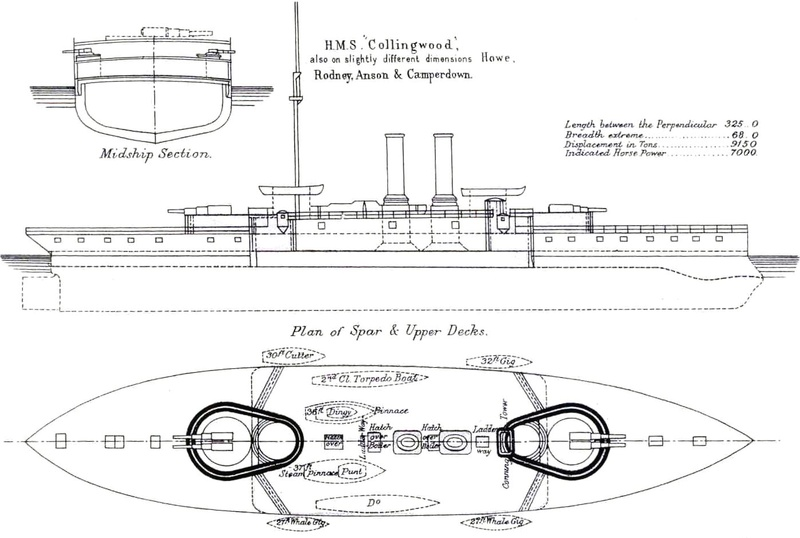 Les premiers cuirassés britanniques 1860-1889 3_coll10