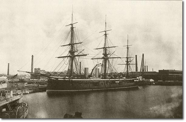 Les premiers cuirassés britanniques 1860-1889 3_hmsh10