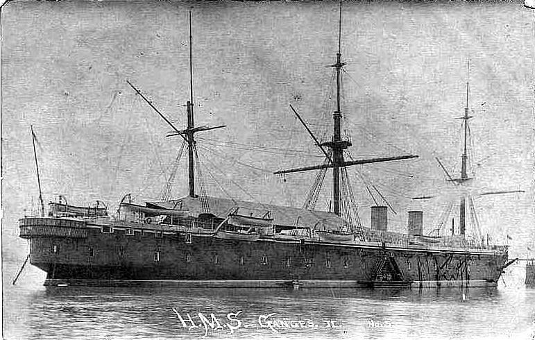 Les premiers cuirassés britanniques 1860-1889 3_mino10