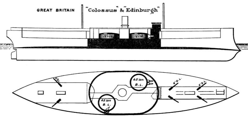 Les premiers cuirassés britanniques 1860-1889 4_colo10