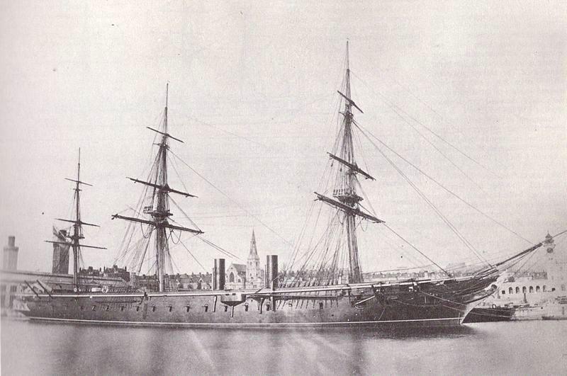 Les premiers cuirassés britanniques 1860-1889 800px-10