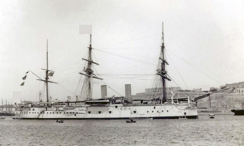 Les premiers cuirassés britanniques 1860-1889 Alexan10