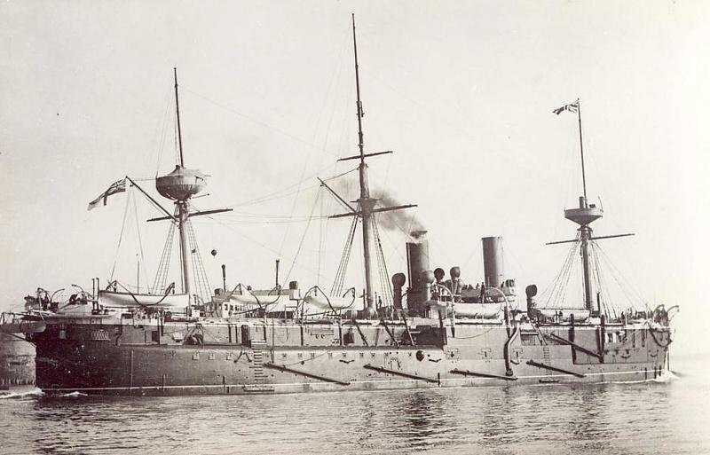 Les premiers cuirassés britanniques 1860-1889 Alexan11