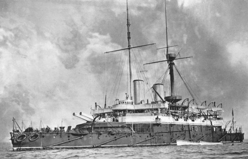 Les premiers cuirassés britanniques 1860-1889 Anson_10
