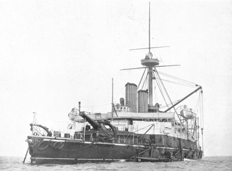 Les premiers cuirassés britanniques 1860-1889 Benbow10