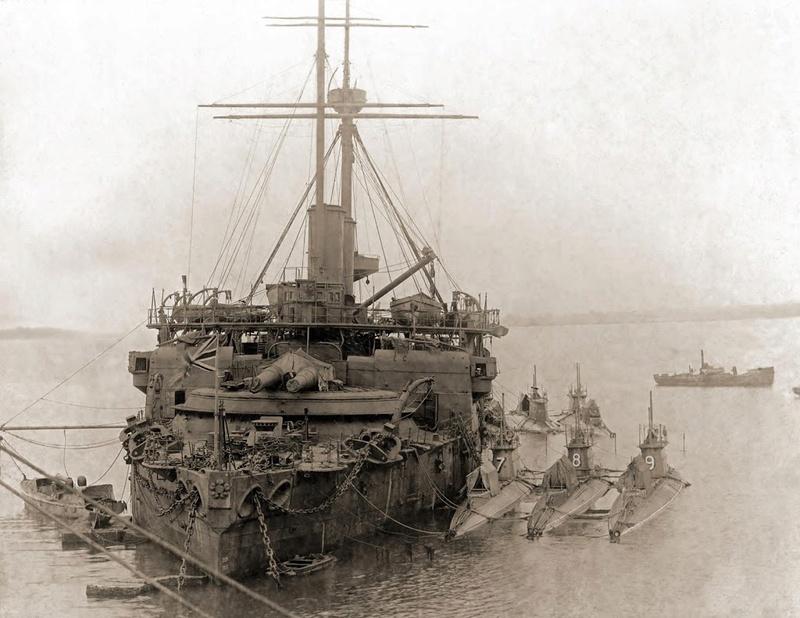 Les premiers cuirassés britanniques 1860-1889 Camper12