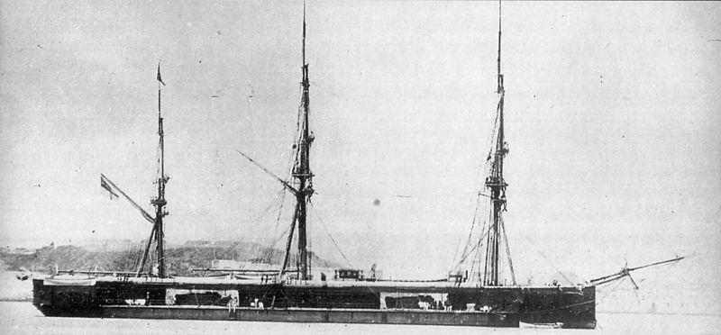 Les premiers cuirassés britanniques 1860-1889 Captai10