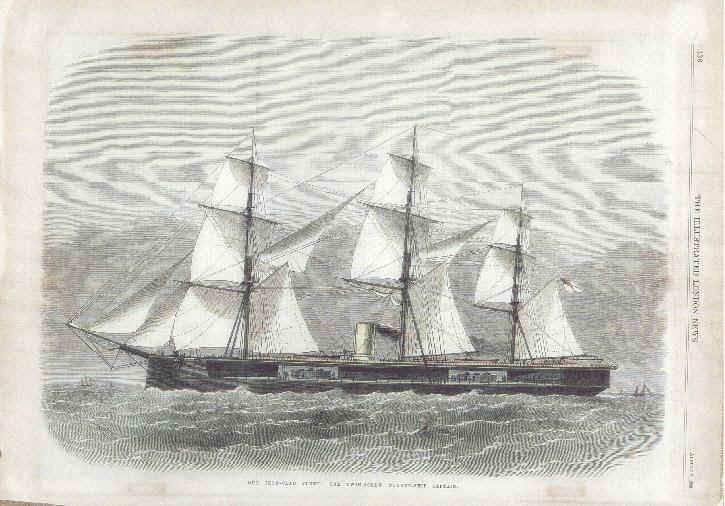 Les premiers cuirassés britanniques 1860-1889 Captai12
