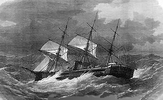 Les premiers cuirassés britanniques 1860-1889 Captai13