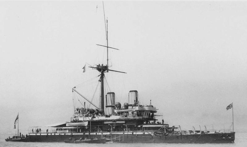 Les premiers cuirassés britanniques 1860-1889 Devast11