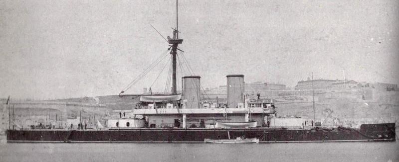 Les premiers cuirassés britanniques 1860-1889 Dreadn10
