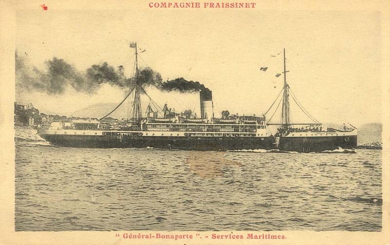 La perte du navire le «Général BONAPARTE » (1923 – 1943) Genera10