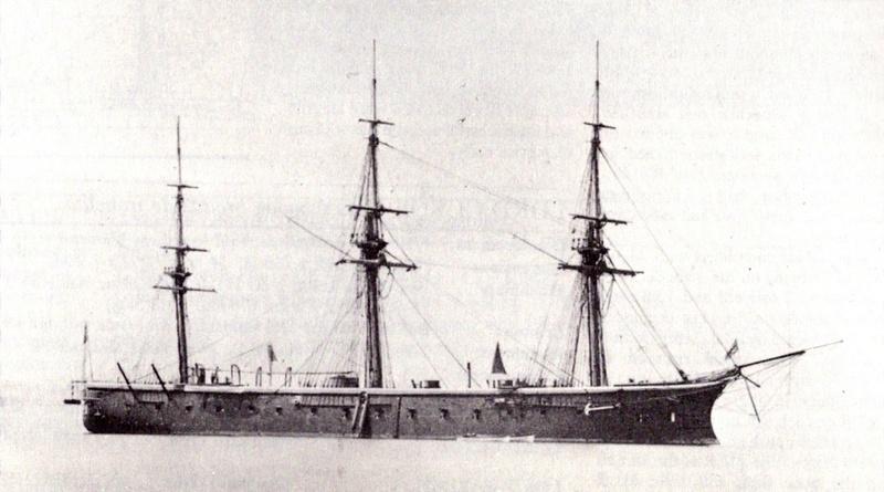 Les premiers cuirassés britanniques 1860-1889 Hms_be10