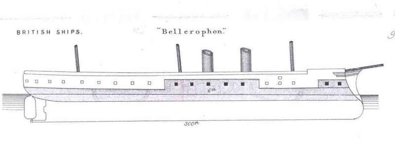 Les premiers cuirassés britanniques 1860-1889 Hms_be11