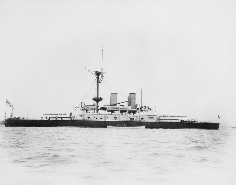 Les premiers cuirassés britanniques 1860-1889 Howe_a10