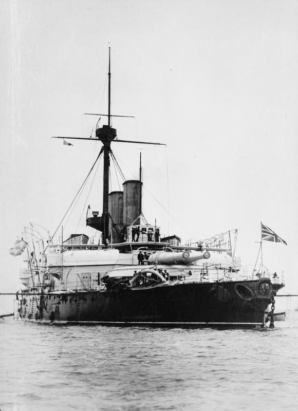 Les premiers cuirassés britanniques 1860-1889 Howe_a11