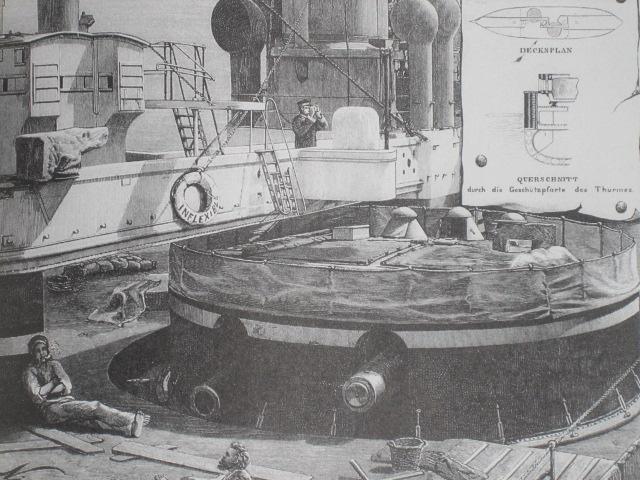 Les premiers cuirassés britanniques 1860-1889 Inflex14