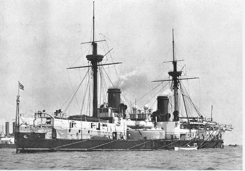 Les premiers cuirassés britanniques 1860-1889 Inflex15