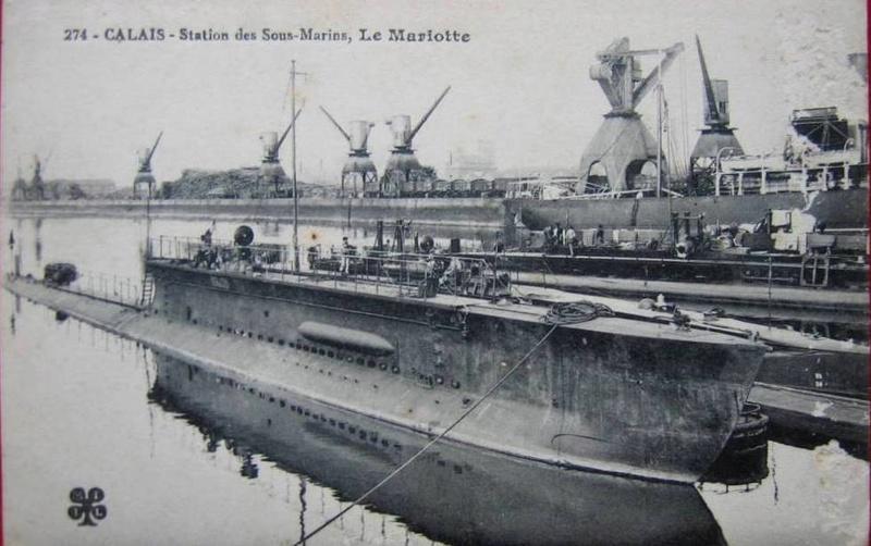 Rechercher plans du Sous Marine Mariotte Mariot12