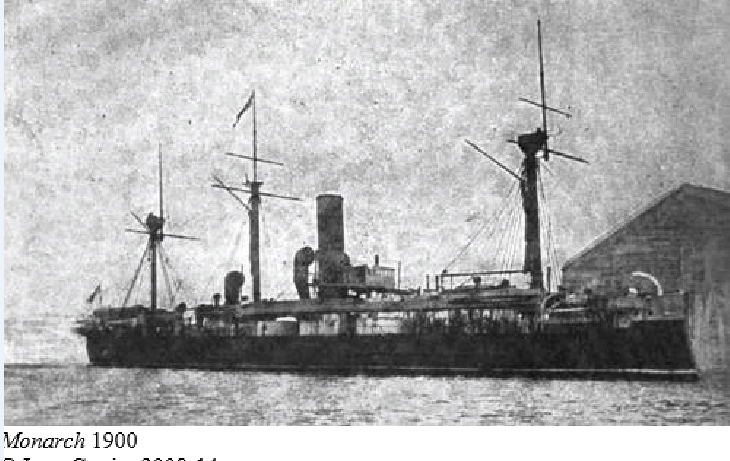 Les premiers cuirassés britanniques 1860-1889 Monarc10