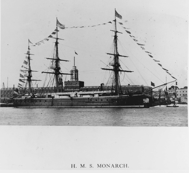 Les premiers cuirassés britanniques 1860-1889 Monarc11