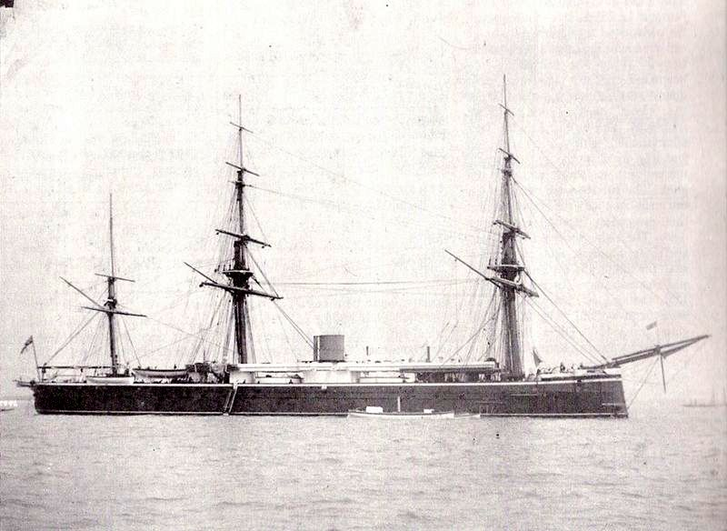 Les premiers cuirassés britanniques 1860-1889 Monarc13