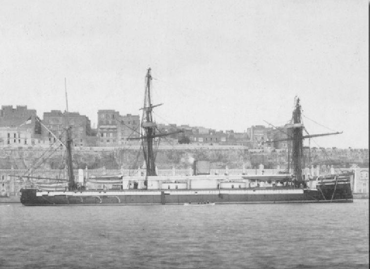Les premiers cuirassés britanniques 1860-1889 Monarc14