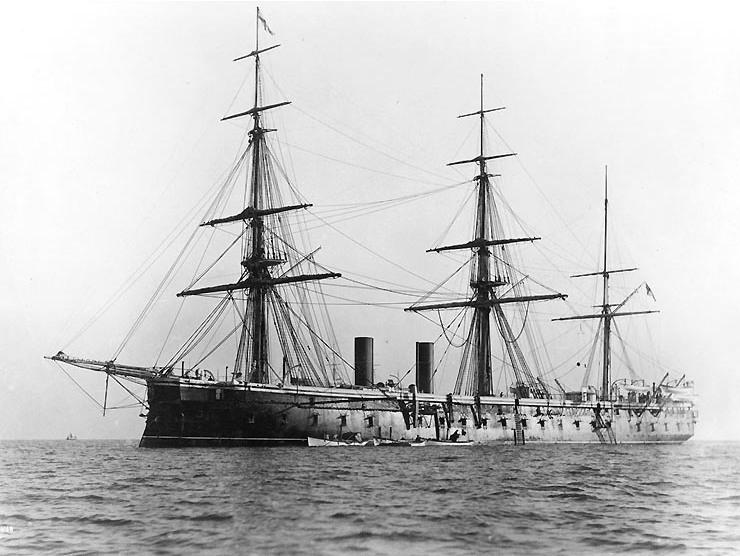 Les premiers cuirassés britanniques 1860-1889 Northu11