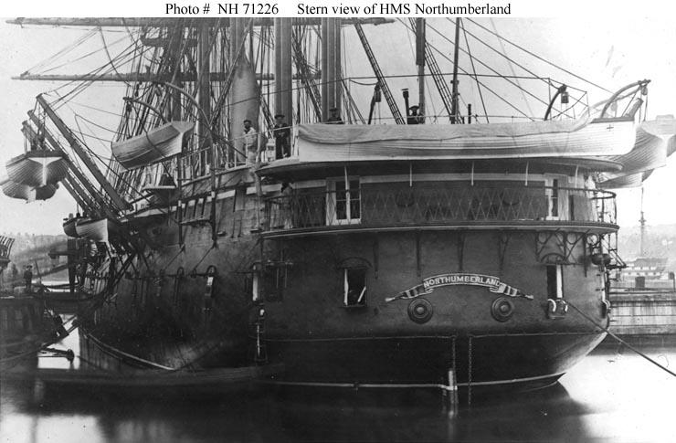 Les premiers cuirassés britanniques 1860-1889 Northu12