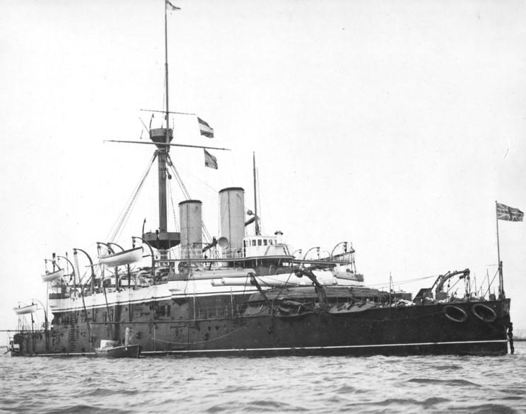 Les premiers cuirassés britanniques 1860-1889 Rodney10