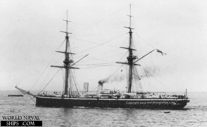 Les premiers cuirassés britanniques 1860-1889 Temera10