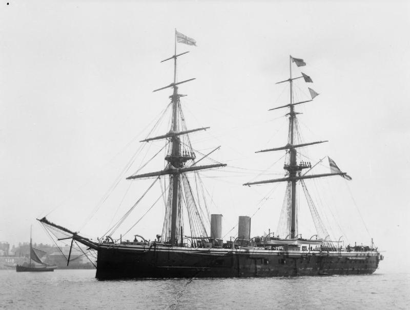 Les premiers cuirassés britanniques 1860-1889 Temera11