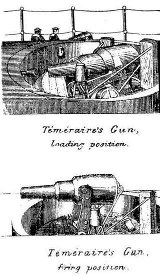 Les premiers cuirassés britanniques 1860-1889 Temera12