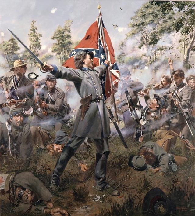 "(FINI) Guerre de secession ""le colonel boy"" par BONO 16552610"