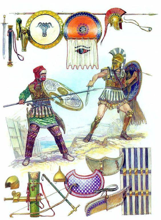 Sparte et Perses aux Thermopyles ( par GIAMILOS ET BONO) TERMINÉ - Page 3 19318f10