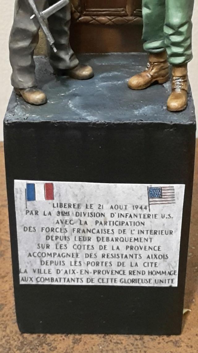 WWII la libération d'Aix en Provence par BONO (FIN) 20171018