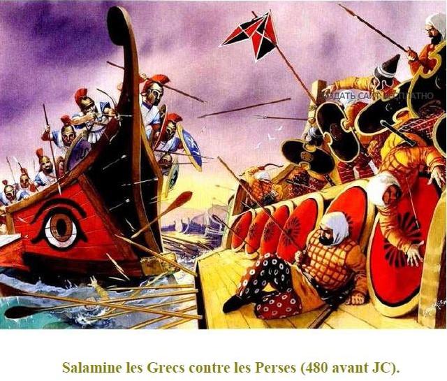 Sparte et Perses aux Thermopyles ( par GIAMILOS ET BONO) TERMINÉ Perse11