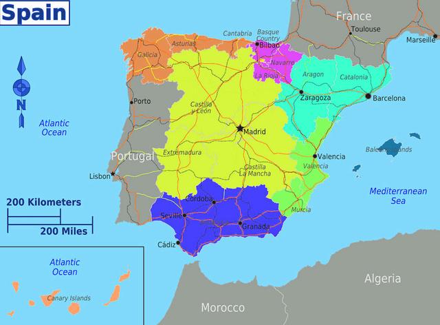 [✔] Reino de España Es-map11