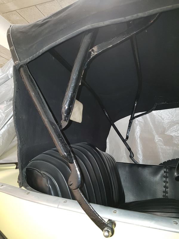Montage des arceaux de capote sur Torpedo 1923 20180117